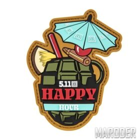 Нашивка Happy Hour Patch. 5.11 Tactical