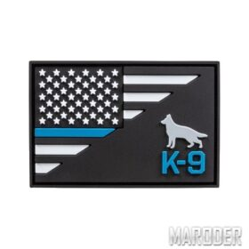 Нашивка K9 Thin Blue Line Patch. 5.11 Tactical