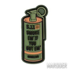 Нашивка Smoke Em Patch. 5.11 Tactical