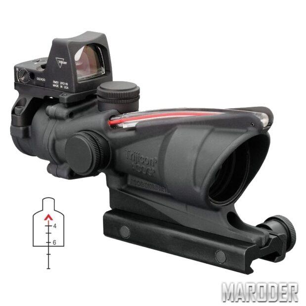 Прицел Trijicon ACOG 4x32 Scope RMR Red Dot Sight