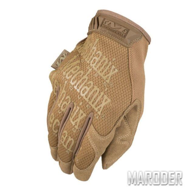Тактические перчатки Original Coyote. Mechanix Wear