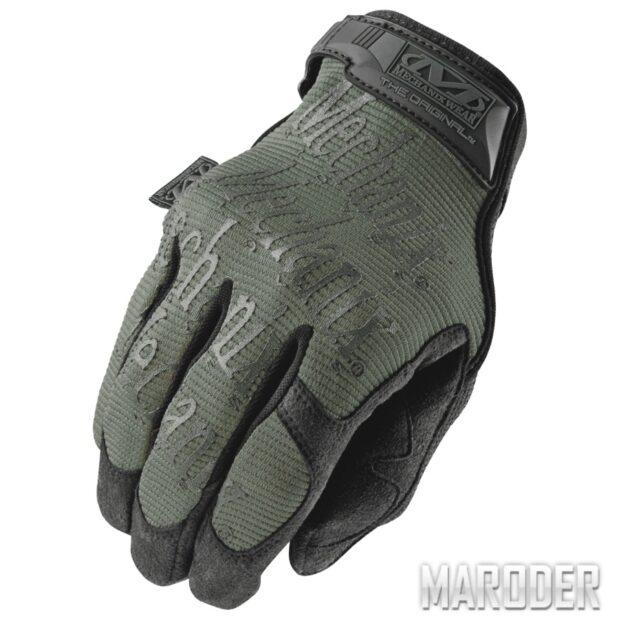 Тактические перчатки Original Foliage Green. Mechanix Wear