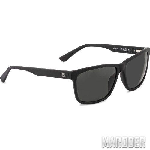 Очки с поляризацией Daybreaker Black/Titanium. 5.11 Tactical