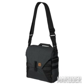 Сумка BUSHCRAFT Haversack Shadow Grey - Black. Helikon-Tex