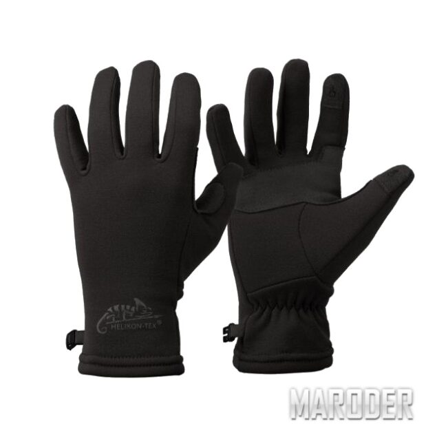 Перчатки Tacker Outback Gloves Black. Helikon-Tex