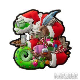 Морал патч Chameleon Christmas. Helikon-Tex