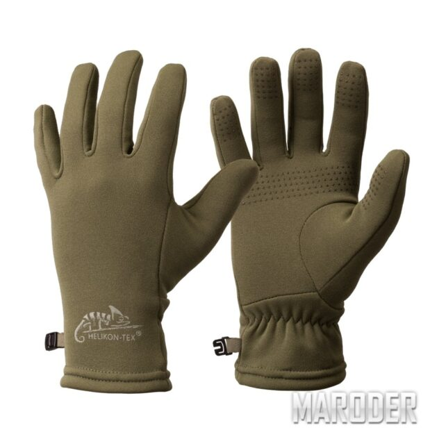 Перчатки Trekker Outback Gloves Olive Green. Helikon-Tex