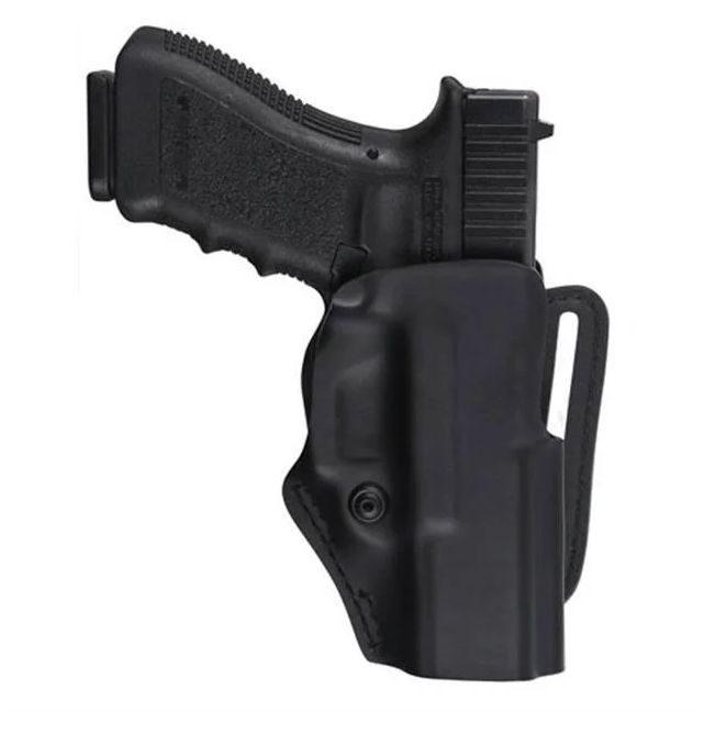 метод удержания пистолета в кобуре
