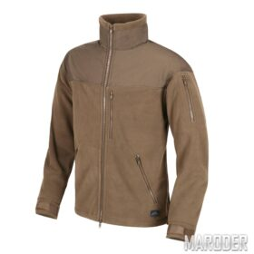 Флисовая куртка CLASSIC ARMY FLEECE Coyote. Helikon-tex
