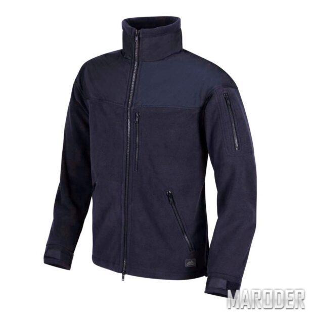 Флисовая куртка CLASSIC ARMY FLEECE Navy Blue. Helikon-tex