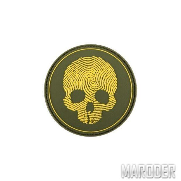 Морал патч Fingerprint Skull. 101 Inc.