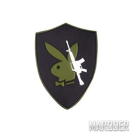 Морал патч Playboy Gun. 101 Inc.