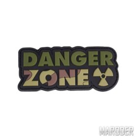 Морал патч Danger Zone Woodland . 101 Inc.