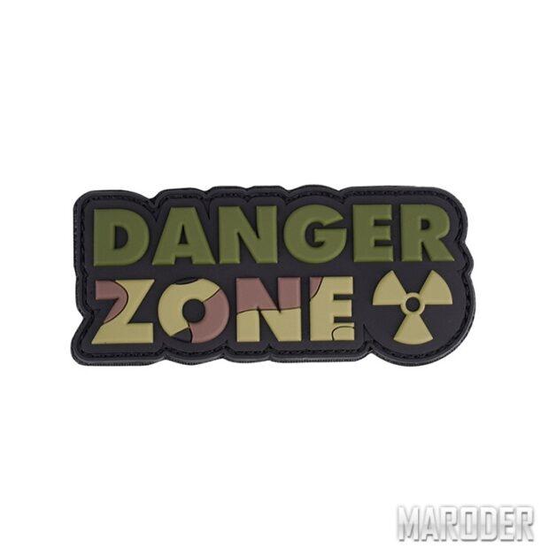 Морал патч Danger Zone Woodland . 101 Inc.