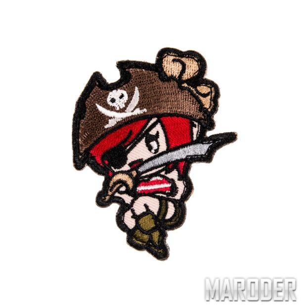 Морал патч Pirate Girl. Mil-Spec Monkey