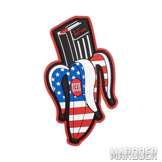 Нашивка Banana Clip USA Patch. 5.11 Tactical